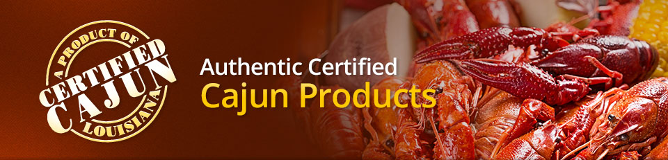 Buy Certified Cajun seasonings, spices, seafood boil, and other