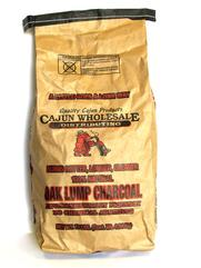 Cajun Wholesale Oak Lump Charcoal 10#