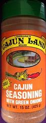 Cajun Land Cajun Seasoning w/Green Onions 15oz