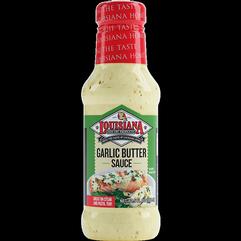NEW!! Louisiana Fish Fry Garlic Butter Sauce 10.5oz