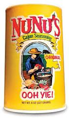 NuNu's Cajun Seasoning 8 oz.