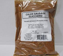 Cajun Wholesale Cajun Sausage Seasoning 15/16 oz (case)
