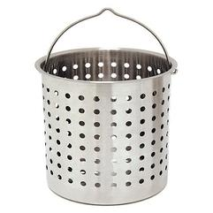 Bayou Classic 24 Qt. Stainless Steel Replacement Basket B124