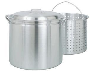 Bayou Classic  42 Qt. Aluminum Boiling / Fryer / Steamer Pot #4042
