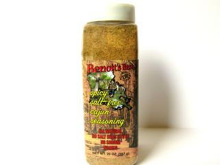 Benoit's Best Salt Free Cajun Seasoning 20 oz.