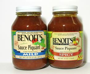 Benoit's Sauce Piquant 32 oz.