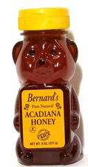 Bernard's Acadiana Honey 8 oz. bears
