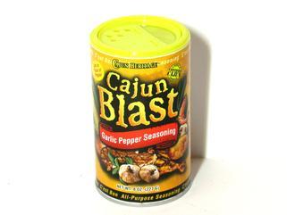 Cajun Blast Garlic Pepper Seasoning 8 oz.