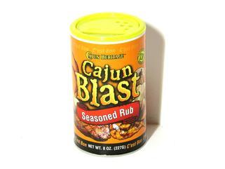 Cajun Blast Seasoned Rub 8 oz.