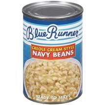 Blue Runner Navy Beans Creole Cream Style 16 oz.