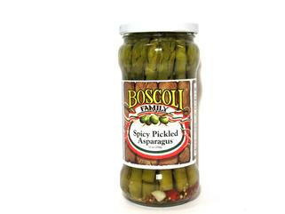 SUPER SALE!!! Boscoli Spicy Pickled Asparagus 12 oz. (2 LEFT!!)