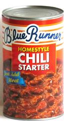 Blue Runner Homestyle Chili Starter 27 oz.