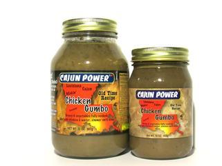 Cajun Power Chicken Gumbo