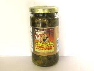 Cajun Chef Nacho Sliced Jalapenos 12 oz.