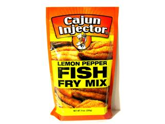 Cajun Injector Lemon Pepper Fish Fry 10 oz. (8 LEFT-DISCONTINUED)