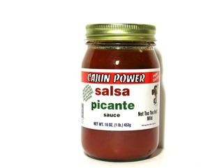 Cajun Power Salsa Picante Sauce 16 oz.
