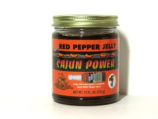 Cajun Power Red Pepper Jelly 12 oz.