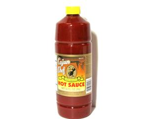 Cajun Chef Hot Sauce 34 oz.