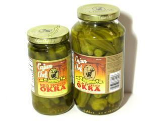 Cajun Chef Mild Pickled Okra 12 oz.
