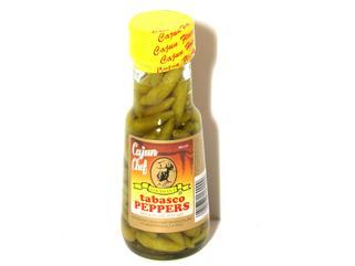 Cajun Chef Tabasco Peppers in Vinegar 6 oz.