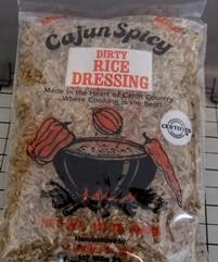 Cajun Fry Company Dirty Rice Dressing 12 oz.