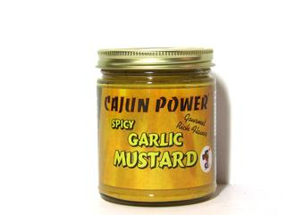 Cajun Power Spicy Garlic Mustard 9 oz.