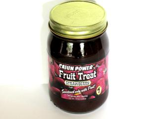 Cajun Power Strawberry Fruit Treat 19 oz. Jar