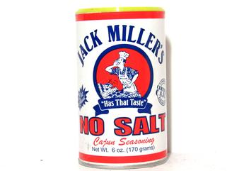 Jack Miller's No Salt Seasoning 6 oz.