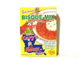 Karys Seasoned Crawfish, Shrimp or Crab Bisque Mix