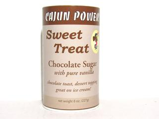 Cajun Power Sweet Treat CHOCOLATE Sugar 8 oz.