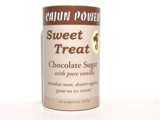 Cajun Power Sweet Treat CHOCOLATE Sugar 8 oz. (OUT OF STOCK)