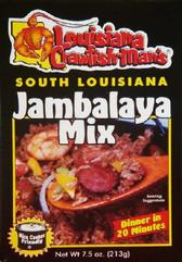 Louisiana Crawfish Man's Jambalaya Mix 2.5 oz.