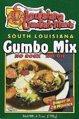 Louisiana Crawfish Man's Gumbo Mix 4.5 oz.
