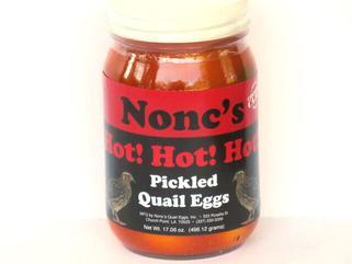 Nonc's Hot Pickled Quail Eggs