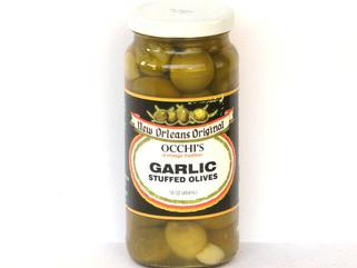 Occhi Garlic Stuffed Olives 16 oz.