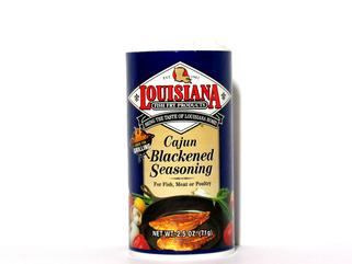 Louisiana fish fry blackened fish seasoning 2 5 oz for Blackening seasoning for fish