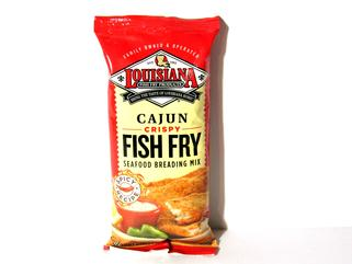 Louisiana Fish Fry Cajun Crispy Fish Fry 10 oz.