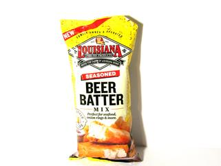 Louisiana Fish Fry Seasoned Beer Batter Mix 8.5 oz.