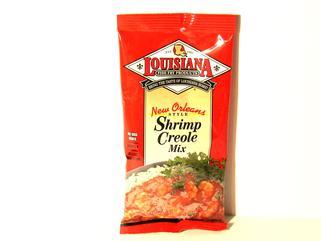 Louisiana Fish Fry Shrimp Creole Mix 2.61 oz.