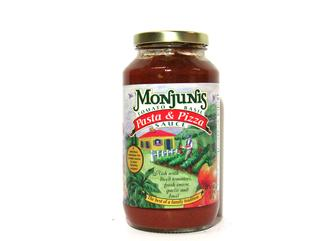 Monjunis Pasta & Pizza Sauce 26 oz. (OUT OF STOCK)