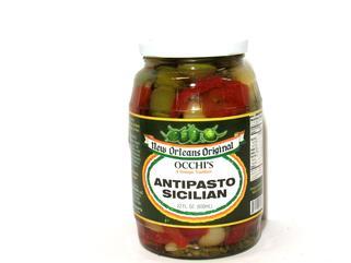 Occhi Antipasto Sicilian 22 oz.