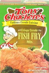 Tony Chachere's Crispy Fish Fry Mix 10 oz.