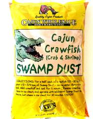 Swamp Dust Cajun Crawfish Seafood Boil 2 lb.