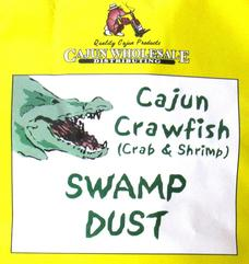 Swamp Dust Cajun Crawfish Boil 50 lb. Box