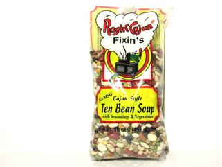 Ragin Cajun Ten Bean Soup 16 oz. (OUT OF STOCK)