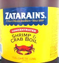 Zatarain's Liquid Boil Concentrate Gallon