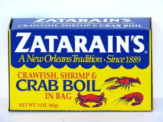Zatarain's Boiling Bags  6 ct/3 oz. Boxes (OUT OF STOCK)
