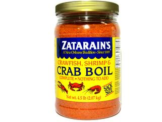 Zatarain's Pre-seasoned Seafood Boil 73 oz.