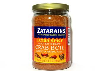 Zatarain's X- Spicy 63 oz. Crab Boil (2 LEFT!!)