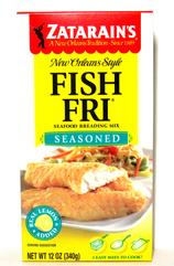 Zatarain's Seasoned Fish Fri 10 oz. (PolyBag)